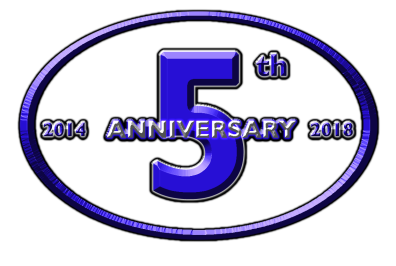Hunter Burton 5th Anniversary Logo Black Outline