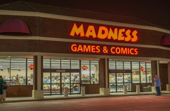 SPONSOR SPOTLIGHT SERIES: Madness Games & Comics Plano
