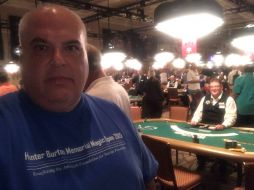 Jeff Zandi in 2015 HBMO shirt