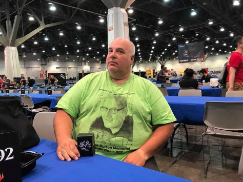 Jeff Zandi in 2017 HBMO shirt
