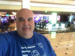 Jeff Zandi in 2018 HBMO shirt